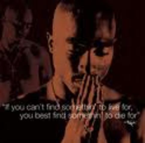 2PAC - UNTIL THE END OF TIME * ONE