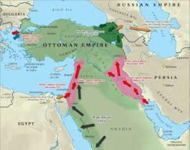 Ottoman Empire Enters War