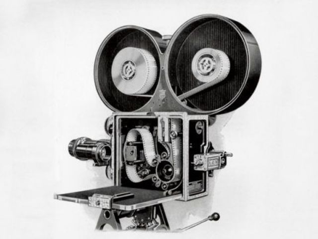 First All-Metal Movie Camera