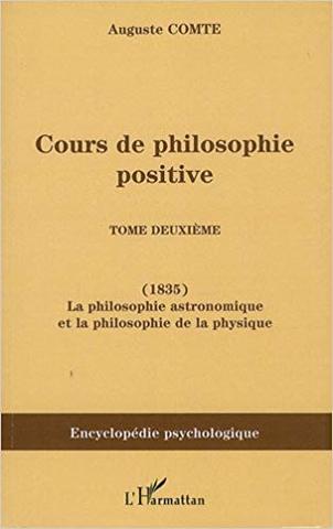 Cours de philosophie positive (2do tomo)