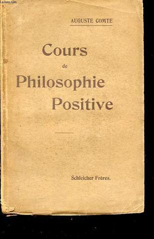 Cours de philosophie positive (5to y 6to tomo)