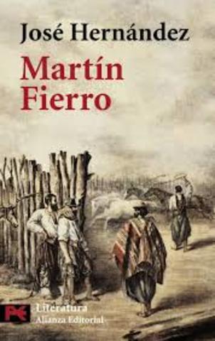 """""""El gaucho martin fierro"""""""