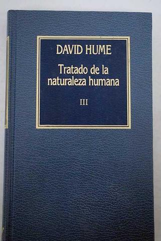 Tratado de la naturaleza humana (3er tomo)
