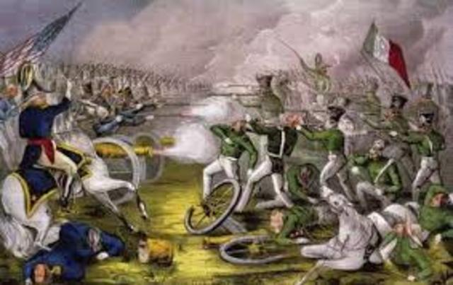 Start of the Mexican War