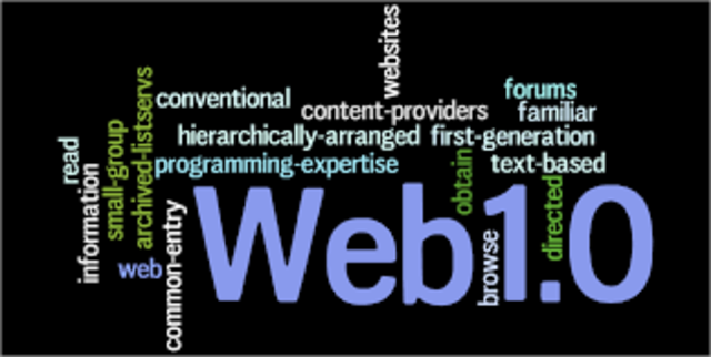 Nace la Web 1.0