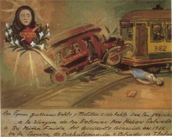 Frida sufre terrible accidente