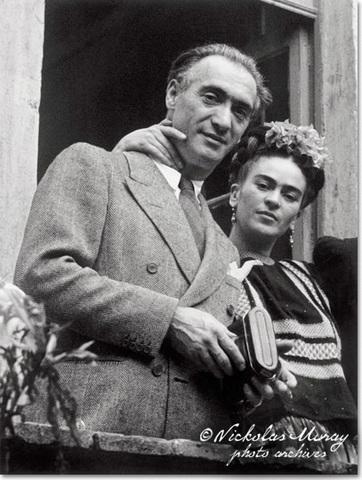 Frida y Diego se casan