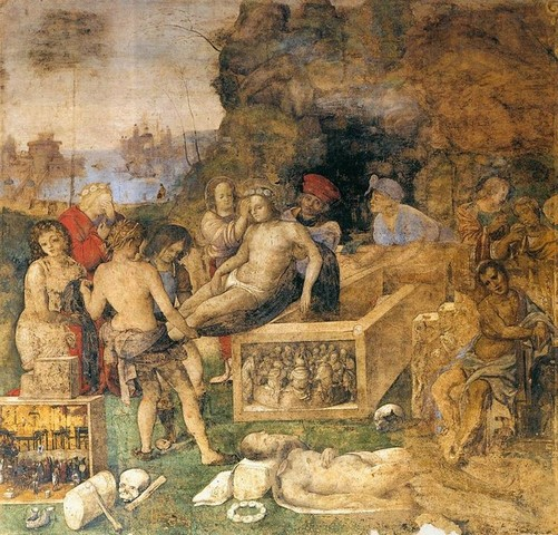 Aspertini, Sepoltura di Valeriano e Tiburzio, Oratorio di S. Cecilia, 1505-06