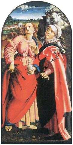 Nicola Filotesio detto Cola dell'Amatrice, Le sante Maria Maddalena e Scolastica1515Città del Vaticano, Pinacoteca Vaticana