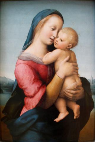 Raffaello, Madonna Tempi, Monaco AP, 1508