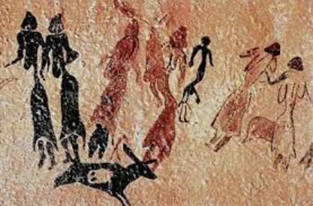 The Dance Of Cogul (Cave Art)