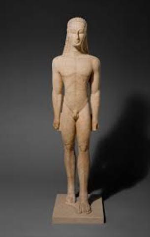 Marble Statue of Kouros (archaic)