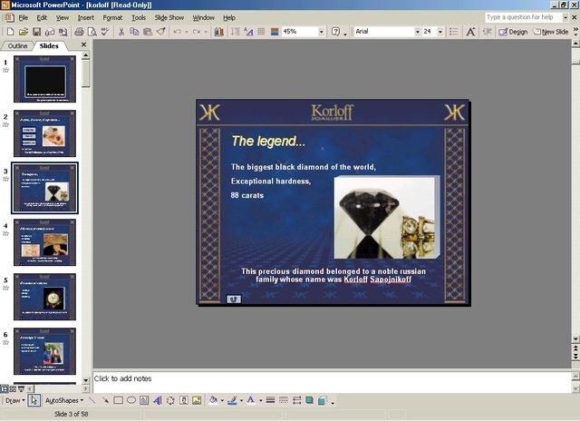 PowerPoint versión 10.0