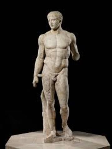 Doryphoros (early roman)