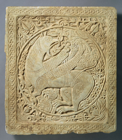 Panel with a Griffen (Byzantine)
