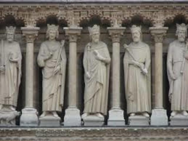 Gothic Column Statues (Gothic)