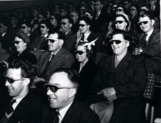 The Gold Age of 3-D Film