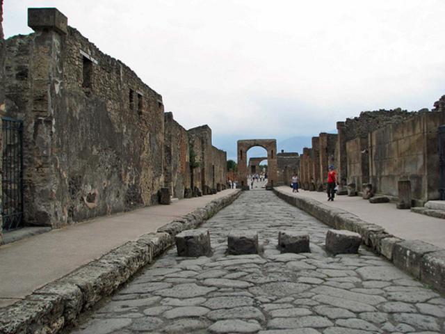Descobriment de Pompeia. Esd. Neoclàssic