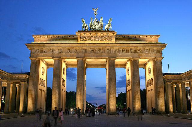 Porta de Brandenburg-Karl Gothard Laghanse