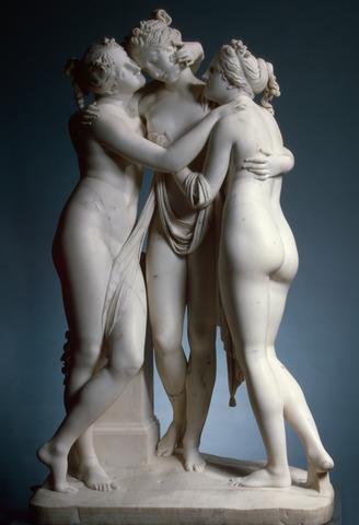 Les tres gracies - Antonio Cànova.