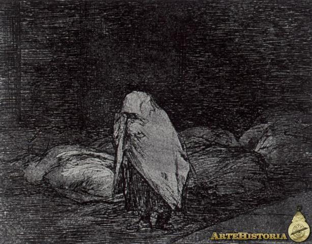 Els llits de la mort - Goya