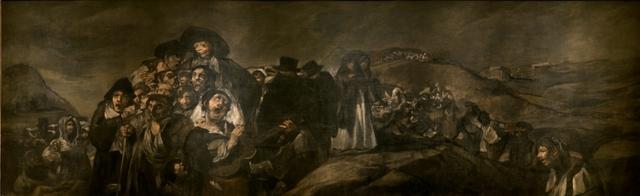 La romeria de Sant Isidre - Goya. Pintures negres.