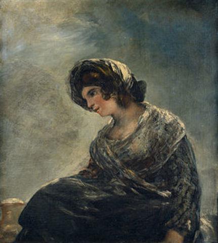 La lechera de Burdeos - Goya