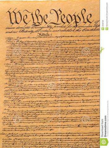 Primera Constitución de los EEUU