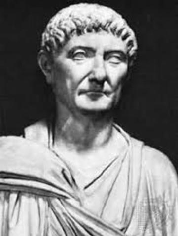 Ο Διοκλητιανός γίνεται αυτοκράτορας