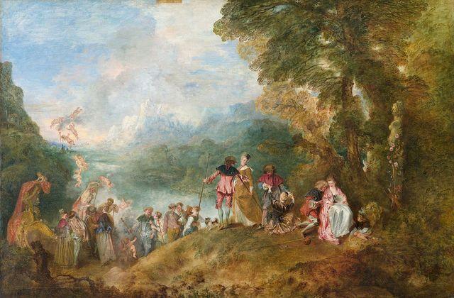 Pilgrimage to Cythera (Rococo)
