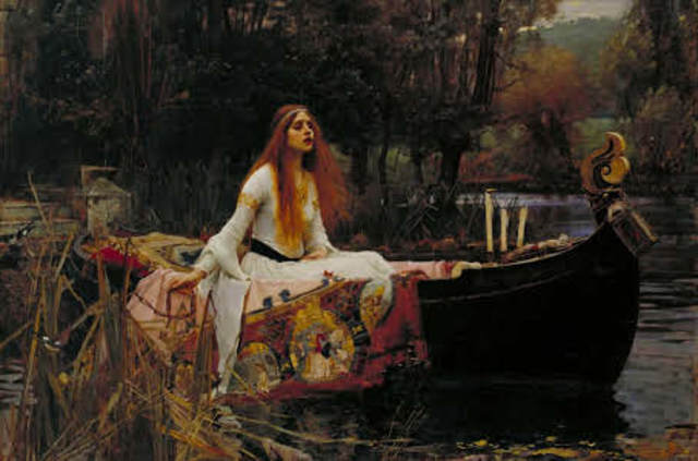 The Lady of Shalott (Romanticism)