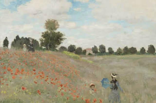 Poppy Field (French impressionism)