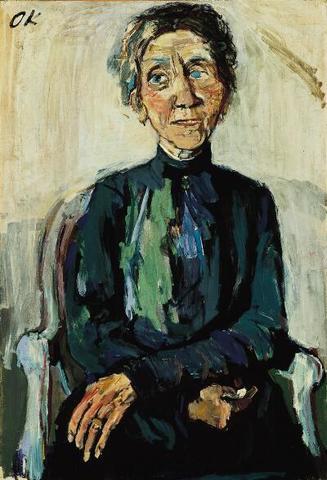 Portrait of Frau Reuther (Expressionism)
