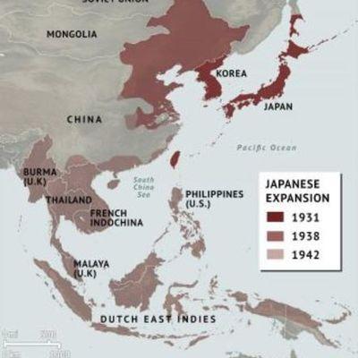 Japanese Expansion Timeline