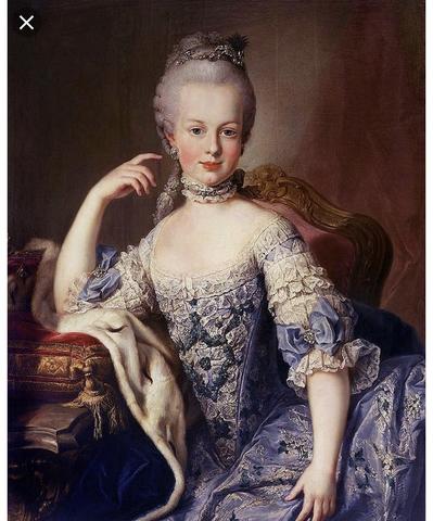 Marie Antoinette becomes queen