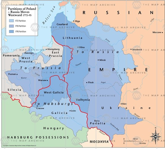 Partition of Poland Takes Action
