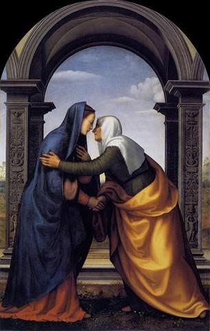 Mariotto Albertinelli, Visitazione, Uffizi