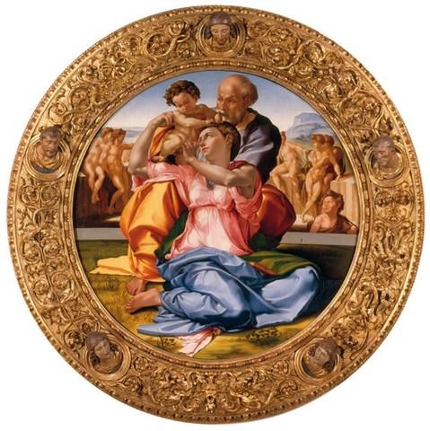 Michelangelo, Tondo Doni 2
