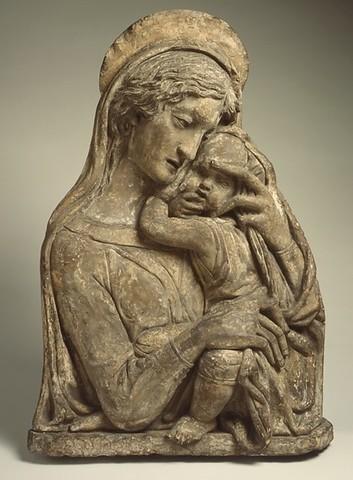 Donatello (copia da), Madonna di Verona, Museo di Castelvecchio