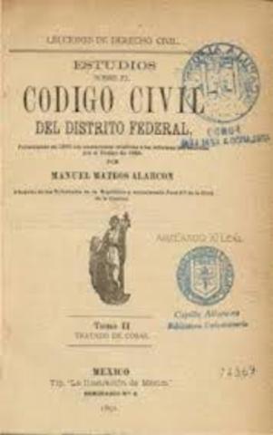 Creación código civil