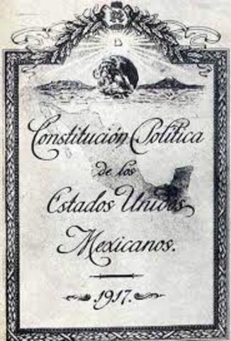 Promulgación de la Constitución política