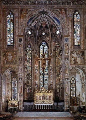 Inizio costruzione Basilica di Santa Croce