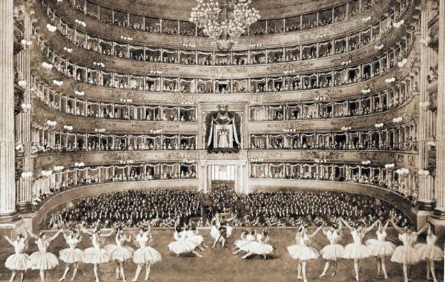 Creación de la Escuela de Scala de Milán- Italia
