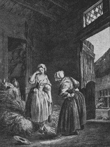 """""""La fille ma gardée"""" de Jean Dauberval- Francia"""