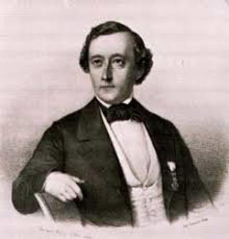 Auguste Bournonville, director del Real Ballet Danés