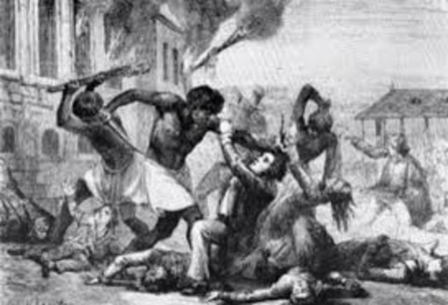 Slavery - slave rebellions