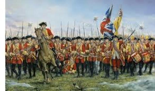 French & Indian War - Great Britian