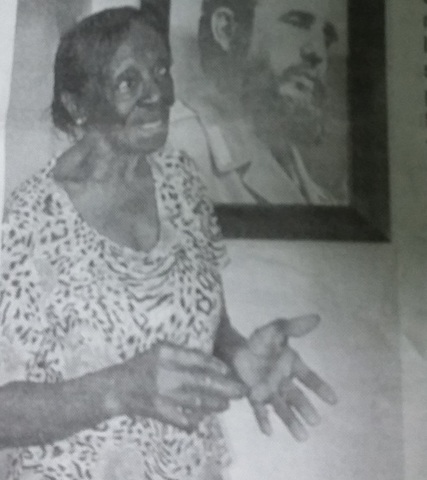 Primera visita de Fidel