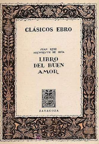 LIBRO DEL BUEN AMOR SIGLO XIV