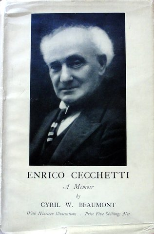 "Publicación de ""A manual of Theory and Practice of Classical Theatrical Dancing"" de Enrico Cecchetti"